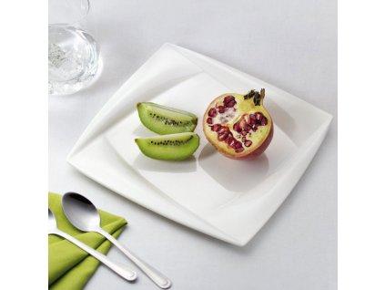 Sada 2 dezertních talířů Diva 21,5 x 21,5 cm AMBITION