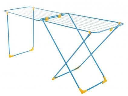 Sušák na prádlo Laura Blue / Yellow 215 x 56 x 89 cm JOTTA