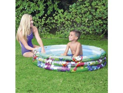 Nafukovací bazén Mickey Mouse 122 x 25 cm BESTWAY