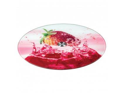 Otočný servírovací tác Candy Strawberry 32 cm DOMOTTI