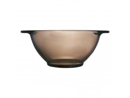 Miska na bujón z kouřového skla 560 ml LUMINARC