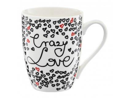 Porcelánový hrnek Crazy Love 380 ml AMBITION