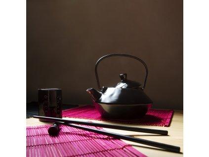 Keramický čajník Asia na zapařování MIX BAREV