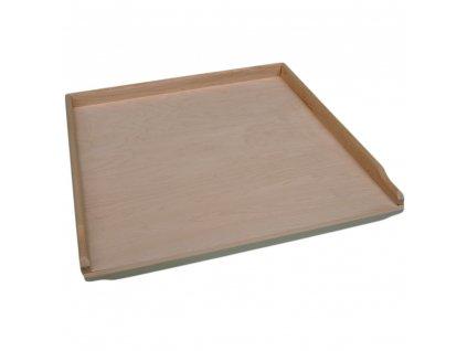 Střední dřevěný vál 53 x 47 cm EKO