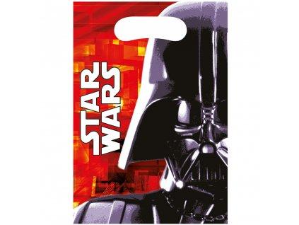 Sada 6 dárkových tašek fólie Star Wars DISNEY