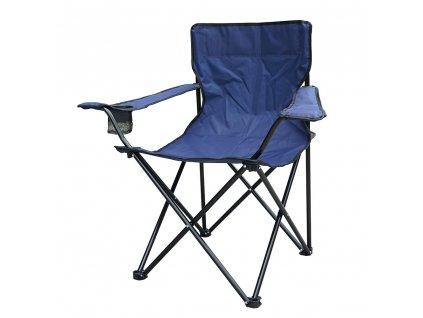 Skládací rybářská židle 50 x 50 x 80 cm PATIO