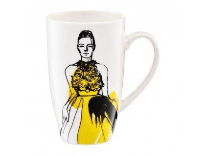 Porcelánový hrnek Fashion Holy Chic 420 ml AMBITION