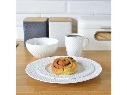 Dezertní talíř Nordic Cream 21,5 cm AMBITION