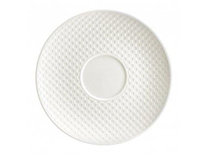 Porcelánový podšálek Nordic Cream 15,5 cm AMBITION