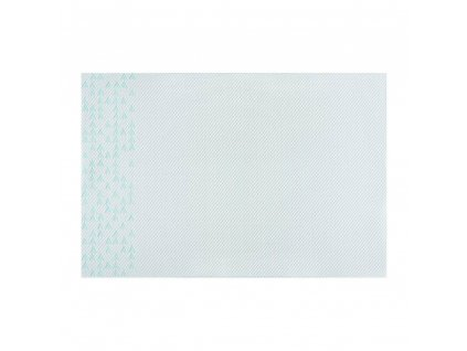 Podložka na stůl PVC / PS Nordic Blue Triangles 30 x 45 cm AMBITION