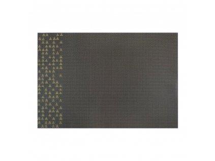 Podložka na stůl PVC / PS Nordic Yellow Triangles 30 x 45 cm AMBITION