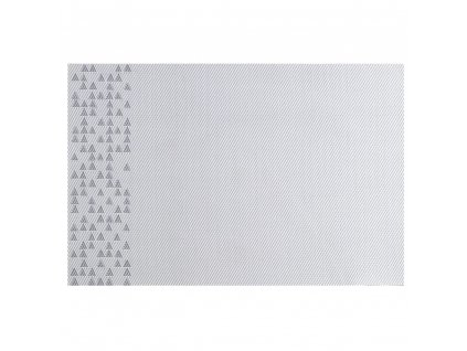 Podložka na stůl PVC / PS Nordic Grey Triangles 30 x 45 cm AMBITION