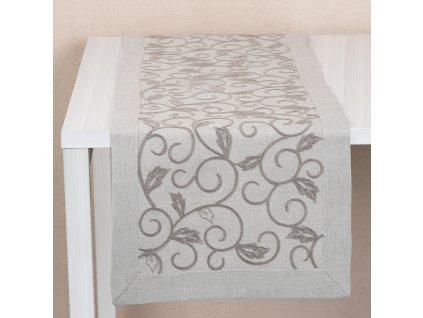 Dekorační běhoun / štola z polyesteru Circle 40 x 150 cm AMBITION