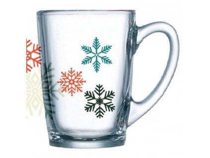 Hrnek New Morning Snowflakes 320 ml LUMINARC