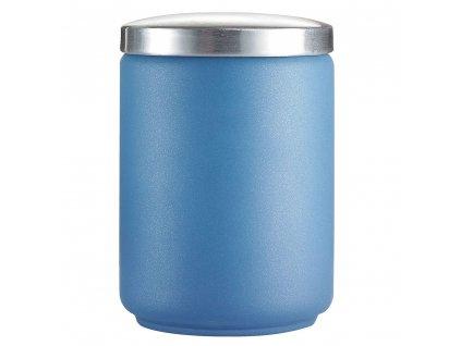 Skleněná Dóza s víkem Stony Blue 1 l LUMINARC