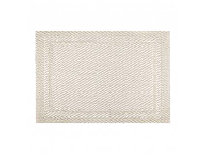Podložka na stůl Velvet Silver PVC / PS 30 x 45 cm AMBITION