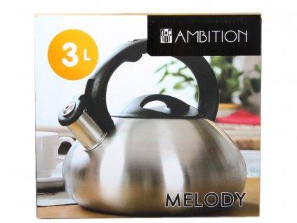 Nerezový čajník Melody Satin 3 l AMBITION