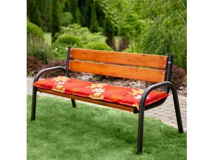 Sedák na zahradní lavici A003-13BB 170 x 49 x 6 cm PATIO