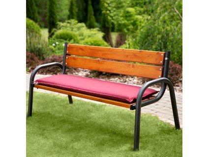 Sedák na zahradní lavici D001-03PB 150 x 49 x 6 cm PATIO