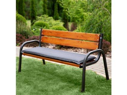 Sedák na zahradní lavici H024-07PB 150 x 49 x 6 cm PATIO