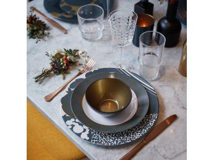 Salátová mísa Orme Blue Gold 12,5 cm LUMINARC