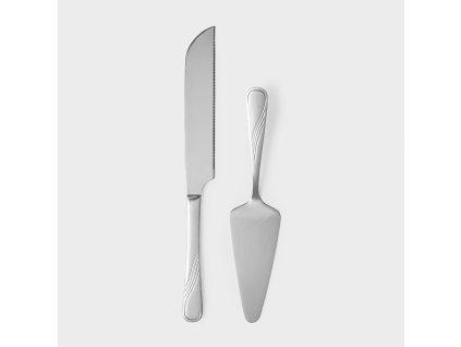 Sada dezertních příborů lopatka a nůž Napoli AMBITION