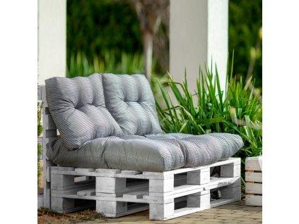 Sada sedáků na sofa z palet Termi H016-06PB PATIO