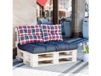 Sada sedáků na sofa z palet Termi L098-07PB PATIO