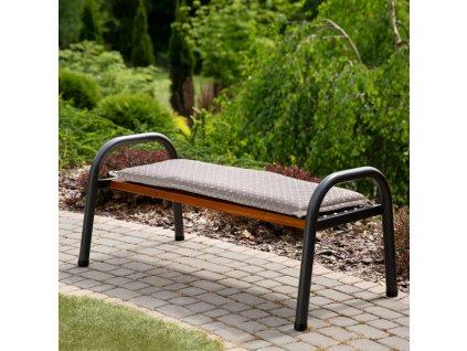 Sedák na zahradní lavici H025-04PB 120 x 49 x 6 cm PATIO