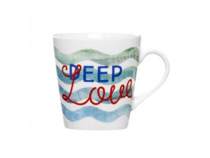 Porcelánový hrnek Deep Love 330 ml AMBITION