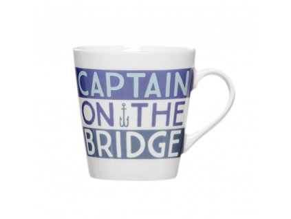 Porcelánový hrnek Captain on the Bridge 330 ml AMBITION