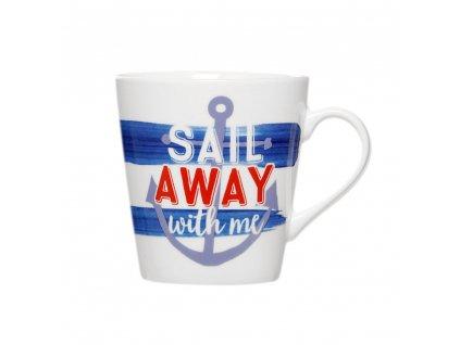 Porcelánový hrnek Sail Away Stripes 330 ml AMBITION