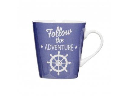 Porcelánový hrnek Follow the Adventure 330 ml AMBITION