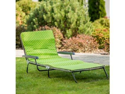 Polohovací zahradní lehátko / lůžko Torino H025-12PB PATIO