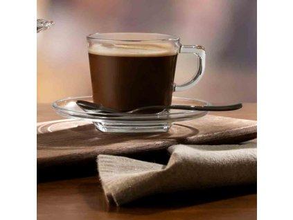 Kávový servis Carre 12-dílů PASABAHCE