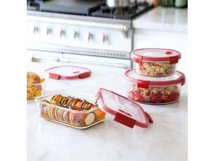 Skleněná nádobka Smart Cook 1,2 l CURVER
