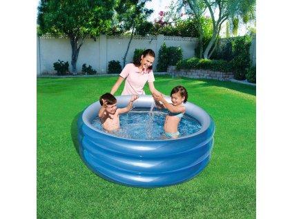 Nafukovací dětský bazén Big Metalic 150 x 53 cm BESTWAY