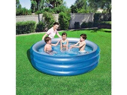 Nafukovací dětský bazén Big Metalic 170 x 53 cm BESTWAY