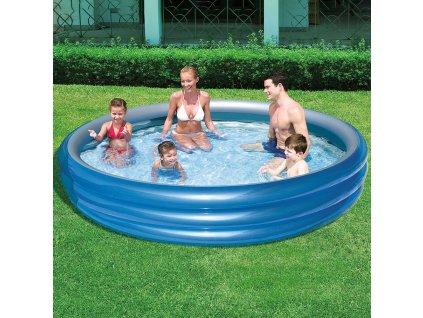 Nafukovací dětský bazén Big Metalic 249 x 53 cm BESTWAY