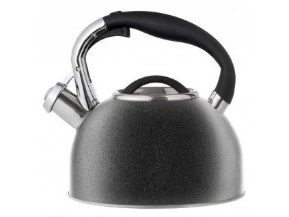 Nerezový čajník Presto Black 2,5 l AMBITION