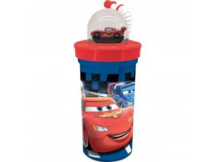 Sportovní láhev s figurkou Cars III. Friends 420 ml DISNEY