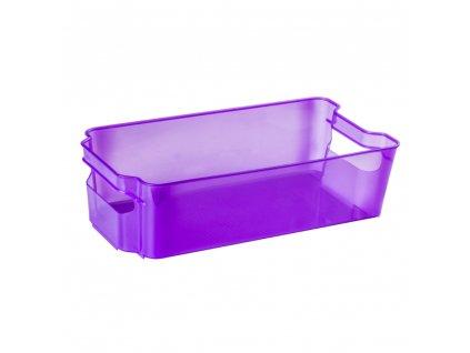Šuplík do lednice Nati Violet 32 x 16 x 8,5 cm DOMOTTI