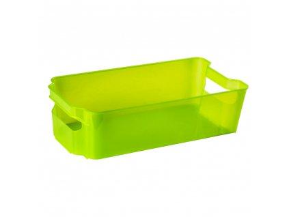 Šuplík do lednice Nati Green 32 x 16 x 8,5 cm DOMOTTI