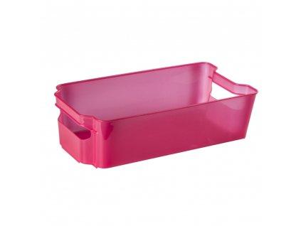 Šuplík do lednice Nati Red 32 x 16 x 8,5 cm DOMOTTI
