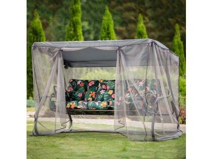 Zahradní houpačka s moskytiérou Celebes Plus G029-07PB PATIO DE