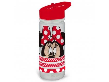 Sportovní láhev Minnie With Love s náramky 520 ml DISNEY