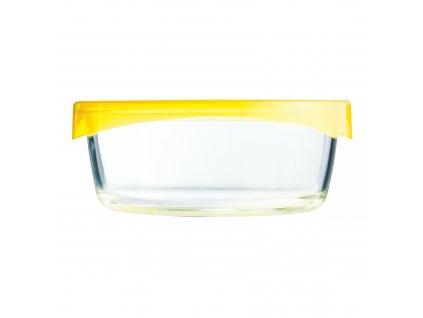 Kulatá skleněná nádobka Keep 'n' Box Yellow 880 ml LUMINARC