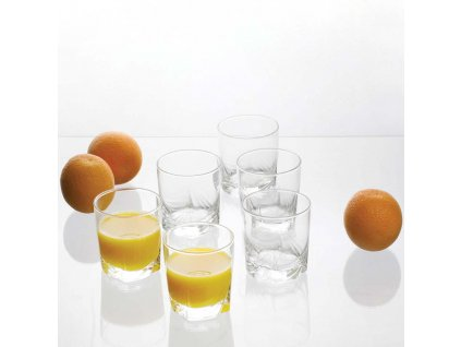 Sada 6 nízkých sklenic Tropicana 300 ml AMBITION
