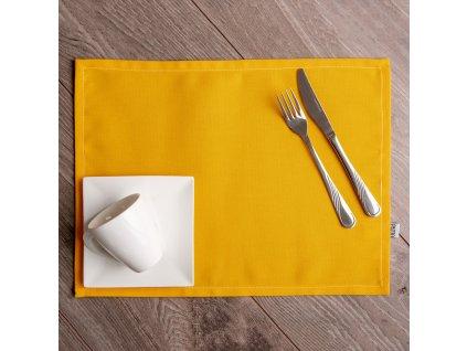 Sada 2 bavlněných podložek na stůl 30 x 40 cm D042-15HB PATIO