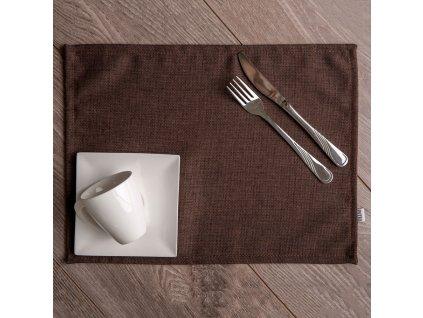 Sada 2 podložek na stůl z polyesteru 30 x 40 cm D020-04EB PATIO